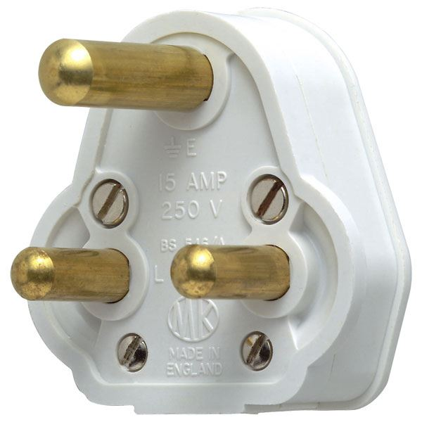Mk 15 Amp 3 Pin Plug Resilient Fairway Electrical